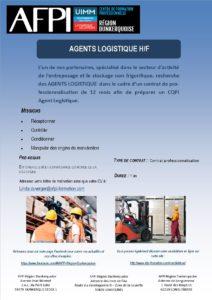 GT Logistique Agents logistique