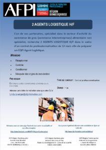 Littoral Primeurs Agents Logistique