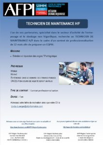 GT Logistics technicien de maintenance